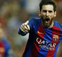 Lionel Messi, figura del FC Barcelona.