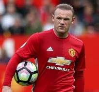 Wayne Rooney, leyenda del Manchester United.