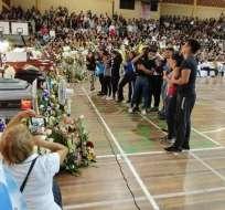 Los jóvenes murieron el sábado cuando viajaban a Sucumbíos. Foto: Cortesía
