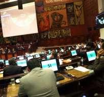 QUITO, Ecuador.- Tráfico de drogas, migración, delincuencia organizada. Foto: Asamblea Nacional.
