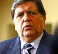 Exfuncionario peruano confiesa que era testaferro de Alan García. Foto: AFP