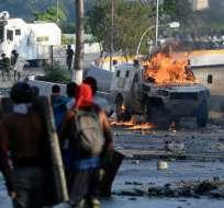 Maduro aseguró que la oposición busca llevar a Venezuela hacia una guerra civil. Foto: AFP