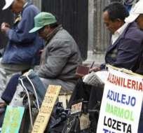 ECUADOR.- Según el INEC, 3'094,000 de personas tienen empleo adecuado. Foto: Archivo