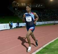 La atleta sudafricana había puesto un recurso contra el nuevo reglamento de la IAAF. Foto: STRINGER / AFP