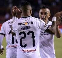 Los 'albos' vencieron 5-0 al club azuayo en los dieciseisavos de final de la competición. Foto: API