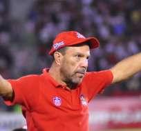 """""""Cheche"""" Hernández, nuevo entrenador del Rodillo Rojo."""
