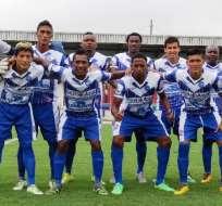 El equipo de Santa Rita de Vinces.