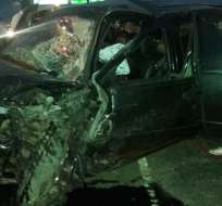 Un muerto y 8 heridos por accidentes de tránsito. Foto: Redes