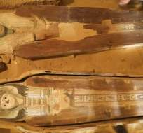 Egipto está promoviendo los nuevos hallazgos arqueológicos para estimular el turismo. Foto: AP