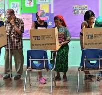 Lo comicios son reñidos y no tienen un claro favorito, de acuerdo con sondeos. Foto: AFP