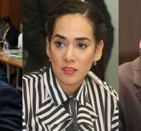 ECUADOR.- El abogado de Jorge Glas; Viviana Bonilla y Christian Viteri se pronunciaron del caso. Collage: Ecuavisa