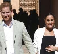 El Palacio de Buckingham dice que Meghan, esposa del príncipe Enrique, entró en labor de parto. Foto: AP