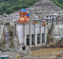 ECUADOR.- Sinohydro recibió una de las obras emblemáticas, la hidroeléctrica Coca Codo Sinclair. Foto: Archivo