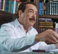 El alcalde del Puerto Principal se despide de la ciudad a pocos días de dejar su cargo. Foto: Vistazo