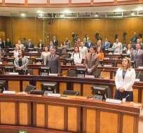 Alianza PAIS, BIN y SUMA definen sus postulantes para dirigir el Legislativo. Foto: Asamblea