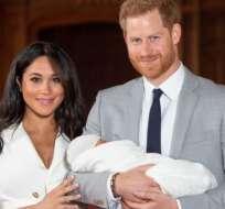 Los duques de Sussex presentaron a su hijo Archie Harrison.