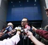 Galo Mora, exsecretario de AP, negó aportes de Odebrecht al movimiento. Foto: API