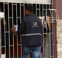 Denuncian a padres de niño negociado en Durán. Foto: captura de video