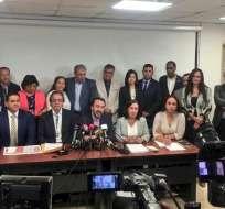 La sesión de la Asamblea Nacional en la que se iba a tratar el tema fue suspendida. Foto: @dorissoliz