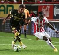 Kevin Mercado dio una asistencia en la clasificación de Necaxa a semifinales. Foto: Archivo