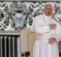 Audiencia semanal del papa en la Plaza de San pedro, en el Vaticano, el miércoles 8 de mayo de 2019.