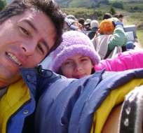 Madre de Paúl Rivas sueña con abrazar a su hijo. Foto: Vistazo - Archivo