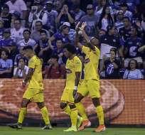 Los 'amarillos' vencieron 1-0 a los 'azules' en el estadio George Capwell. Foto: API
