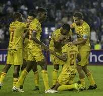 Los 'amarillos' vencieron 1-0 a los 'azules' en el primer clásico del astillero del año. Foto: API