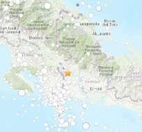 El movimiento telúrico se dio cerca de la frontera con Costa Rica. Foto: USGS