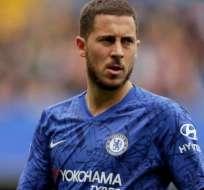 Hazard jugará la final de la Europa League con el Chelsea.
