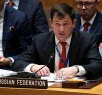 """Dmitry Polyanskiy: Rusia no tiene """"ninguna razón"""" para atender el pedido de Trump de salir de Venezuela. AFP"""