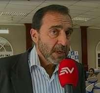 Nassib Neme, presidente del Club Sport Emelec.