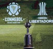 Trofeo de la Copa Libertadores. Foto: Twitter Copa Libertadores.