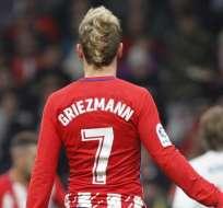 Griezmann, figura del Atlético de Madrid.