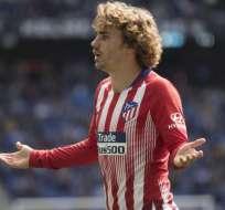 Griezmann, dejará al Atlético tras cinco temporadas.