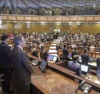 Pleno del Parlamento definió la conformación de las mesas tras 2 postergaciones el jueves. Foto: Asamblea