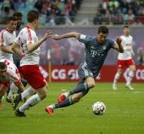 El delantero polaco tiene contrato por un año más con el Bayern Munich. Foto: Odd ANDERSEN / AFP