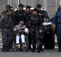 EEUU se opuso con fuerza a la excarcelación y presionó por su extradición. Foto: AFP