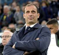 Massimiliano Allegri, entrenador de fútbol.