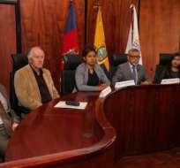 QUITO, Ecuador.- Los jueces contenciosos electorales fueron designados por el CPCCS transitorio. Foto: Archivo