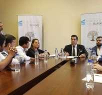 GUAYAQUIL, Ecuador.- La reunión se da 3 días después de haber llegado a un acuerdo con la ministra de Salud.