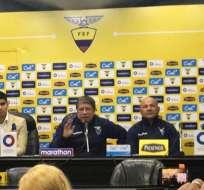 El entrenador dio una rueda de prensa para hablar sobre la convocatoria para Copa América. Foto: Luigi Marchelle