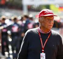 Niki Lauda en su vida de empresario.