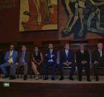 Durante sesión del Pleno también juraron los miembros del Directorio del Biess. Foto: API