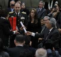 El Gobierno otorgó la Orden Nacional de San Lorenzo a Julio César Trujillo. Foto: API