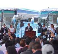 """Moreno calificó como """"una deuda histórica"""" que todavía los transportistas no estén integrados a la seguridad social."""