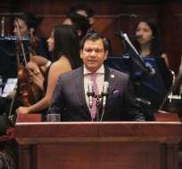 QUITO, Ecuador.- Presidente de la Asamblea instó a que casos como el de Gabela no queden en el olvido. Foto: Twitter