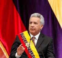 QUITO, Ecuador.- El mandatario hizo un enfático llamado a los empresarios para que inviertan ya en el país. Foto: Twitter