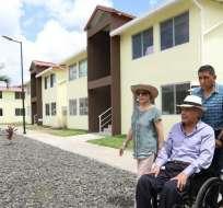 El Gobierno prevé construir 4.500 casas en el área rural y 14.000 viviendas en área urbana. Foto: Presidencia