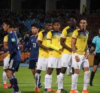 El delantero de la selección ecuatoriana sub-20 dijo que eso le puede pasar a cualquiera. Foto: Tomada de @FEFecuador